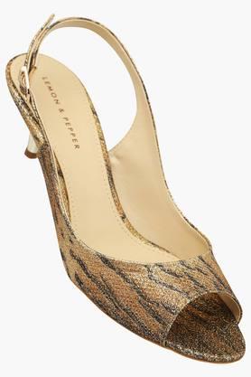 LEMON & PEPPERWomens Casual Ankle Buckle Closure Heel Sandal - 201506074