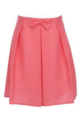Girls Dot Pattern Skirt
