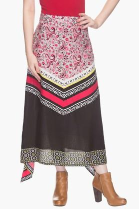 HAUTE CURRY Womens Printed Skirt - 201316571