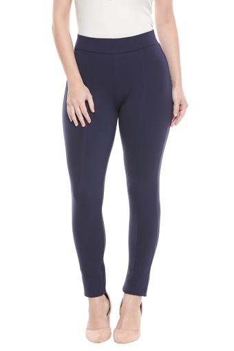FRATINI WOMAN -  Navy Jeans & Leggings - Main