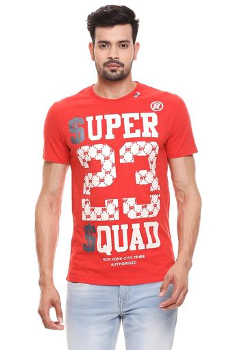 SUPERDRY -  Red T-Shirts & Polos - Main
