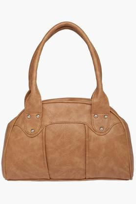 Womens Zipper Closure Synthetic Leather Tote Handbags - 201838063