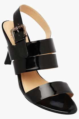 FEMINA FLAUNTWomens Party Wear Ankle Buckle Closure Heel Sandal - 202124941
