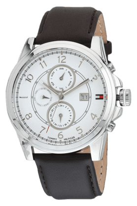 TOMMY HILFIGER White Dial Chronograph Men's Watch - TH1710294J