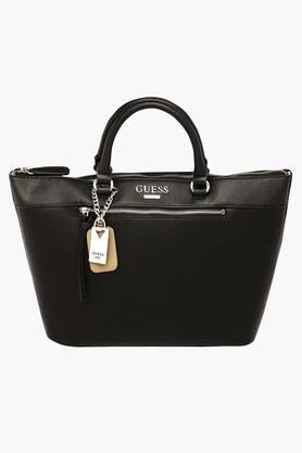 GUESSWomens Aerial Zipper Closure Tote Handbag