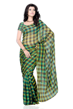 DEMARCA De Marca Multicolor Art Silk Designer DF-223C Saree