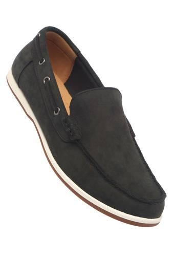 CLARKS -  Black Mix Casual Shoes - Main