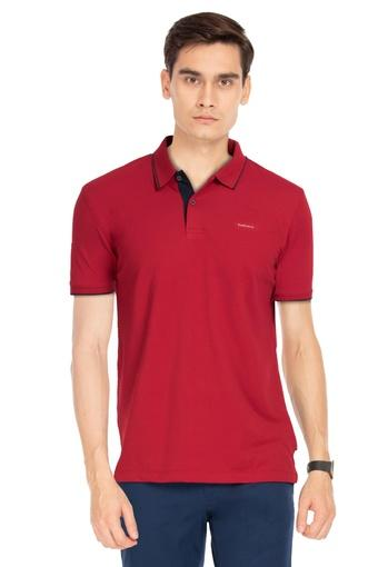 VAN HEUSEN -  Red VAN HUESEN Buy 1 @ 20% Off, Buy 2 @ 30% Off - Main