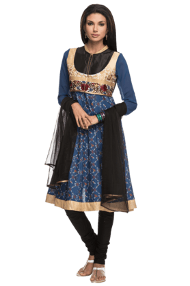 IMARA Women Embellished Churidar Suit - 200198552
