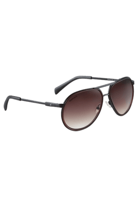 FASTRACK Brown Aviators Sunglass For Men-M141BR2