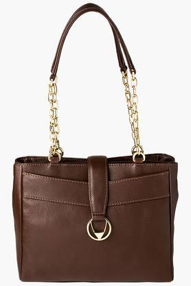 HIDESIGN Womens Zipper Closure Shoulder Bag - 200903205