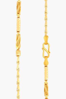 MALABAR GOLD AND DIAMONDS Mens 22 KT Gold Chain - 201391247