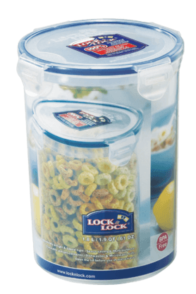 LOCK & LOCK Classics Tall Round Food Container - 1.8 Litres