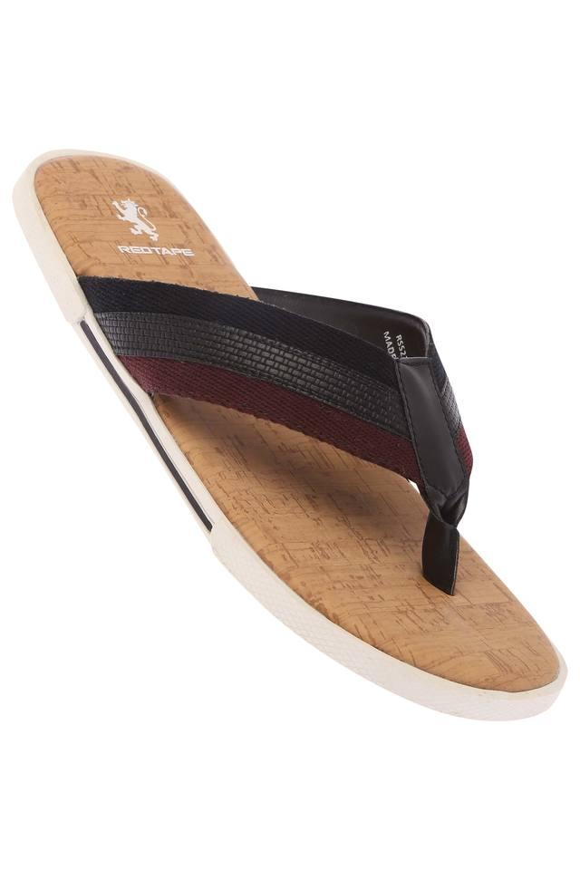 RED TAPE - Black Flip Flops - Main