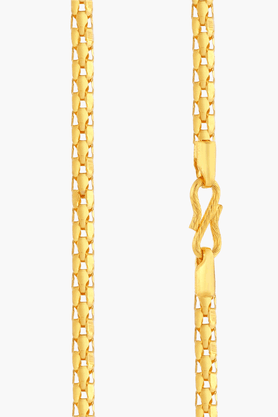 MALABAR GOLD AND DIAMONDS Mens 22 KT Gold Chain - 201391340