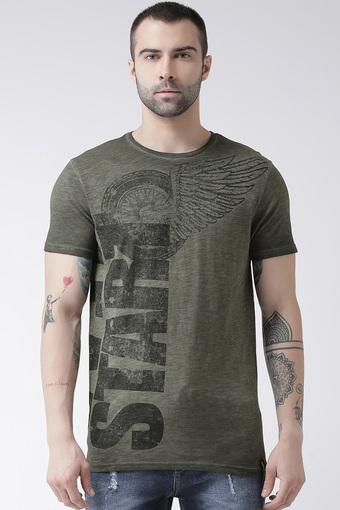 REX STRAUT JEANS -  GreenT-shirts - Main