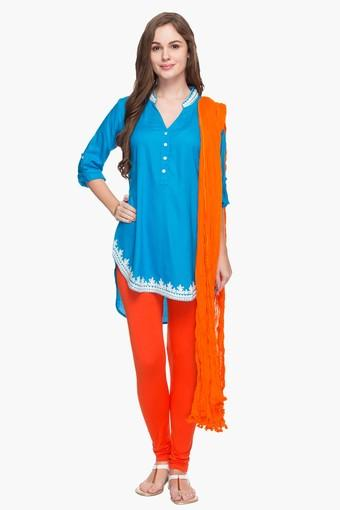 Womens Solid Crushed Dupatta