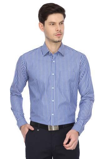 STOP -  BlueFormal Shirts - Main