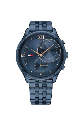 Womens Blue Stainless Steel Chronograph Watch  - TH1782181