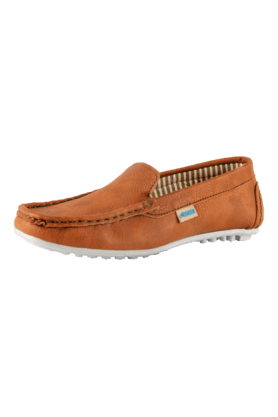Boys Leather Slipon Loafer