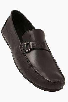 Mens Leather Slipon Smart Formal Shoes