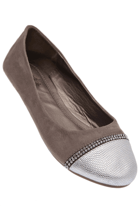RS BY ROCKY STAR Womens Toned Slipon Ballerina Shoe