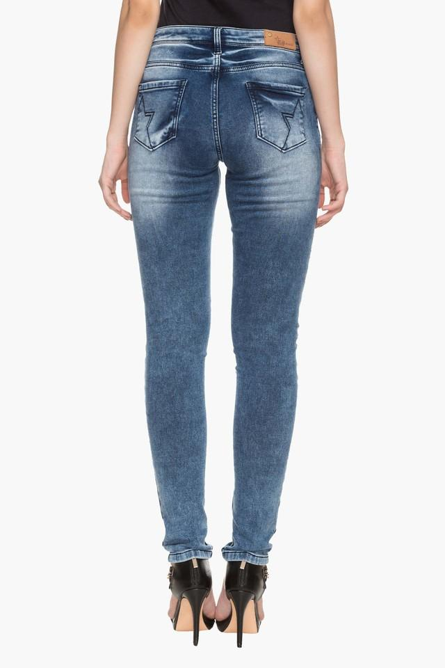 39df08d8c Buy RS BY ROCKY STAR Womens 5 Pocket Stone Wash Distressed Jeans | Shoppers  Stop