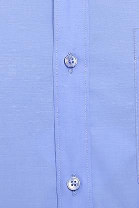 RAYMOND - Dark BlueFormal Shirts - 4