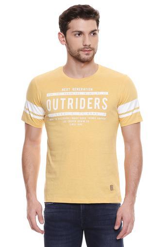 LEE COOPER -  YellowT-shirts - Main