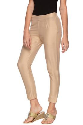 Womens Solid Pants