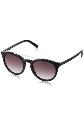 Unisex Brow Bar UV Protected Sunglasses - 7909 N Blk/Silver C1