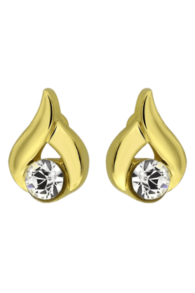 MAHI Mahi Gold Plated Fantasy Earrings With Crystals For Women ER1103681G