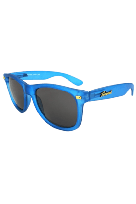 KNOCKAROUND Fort Knocks Unisex Sunglasses Frosted Cobalt/Smoke -FKGL1020 (Use Code FB20 To Get 20% Off On Purchase Of Rs.1800)