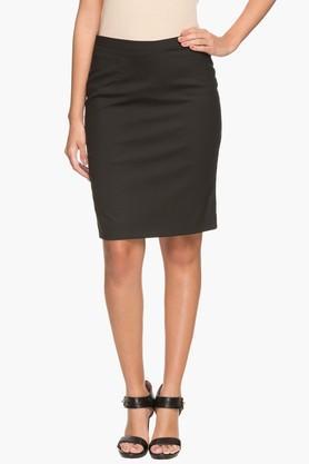 PARK AVENUEWomens Basic Straight Fit Skirt