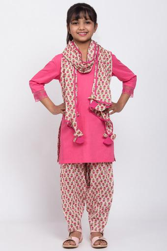 BIBA GIRLS -  PinkBIBA GIRLS - FLAT 10% OFF - Main