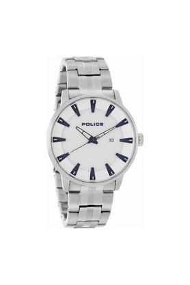 Mens Analogue Stainless Steel Watch - PL15391JS04M