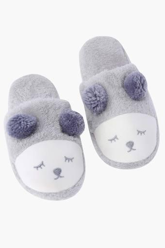 Applique Slip On Bath Slippers