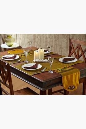 STOA PARIS Multi Colour Multi Colour Table Linen (Place Mat Napkin Sets (12 Pcs) - 202234517
