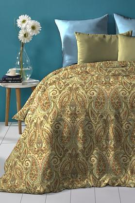 Cotton King XL Digital Printed Bedsheet With Pillow Cover - 202448891