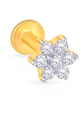 MALABAR GOLD AND DIAMONDSWomens Diamond Nosepin UINSP00092