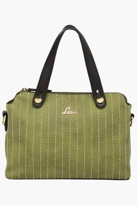 LAVIEWomens Fusion Zipper Closure Satchel
