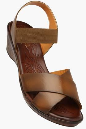 CATWALK Womens Daily Wear Slipon Wedge Sandal