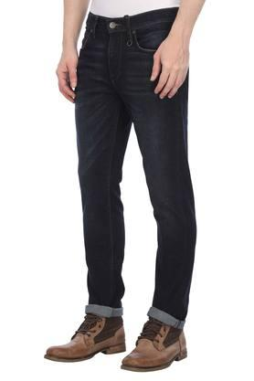 Mens Slim Fit Rinse Wash Jeans (Travis Fit)