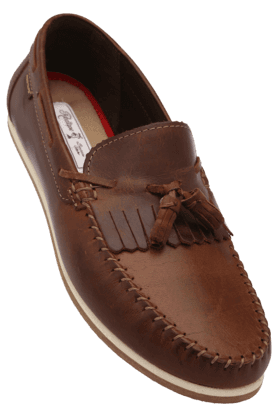 RED TAPEMens Leather Slipon Casual Shoe - 200874636
