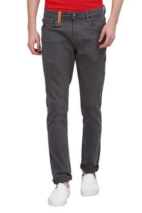 Mens 5 Pocket Coated Jeans