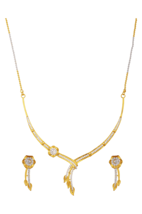 TUANPleasant Diamond Jewel Set For Women (INK-773) (Use Code FB20 To Get 20% Off On Purchase Of Rs.1800)