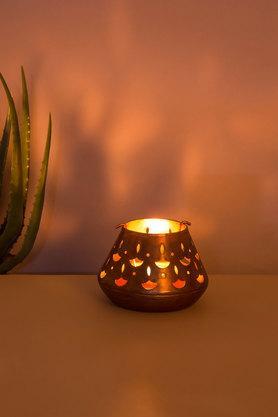 Chattel Cutwork T-Light Taper Candle Holder
