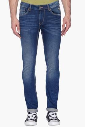 FLYING MACHINEMens Skinny Fit Mild Wash Jeans (Jackson Fit) - 201331548