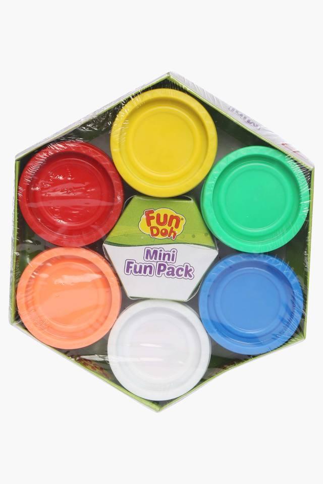 Unisex 6 Colour Tub Playdoh