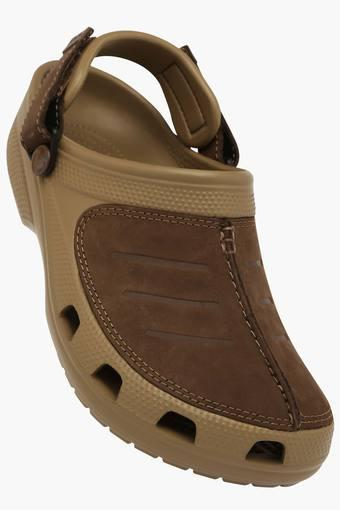 Womens Casual Velcro Closure Clogs
